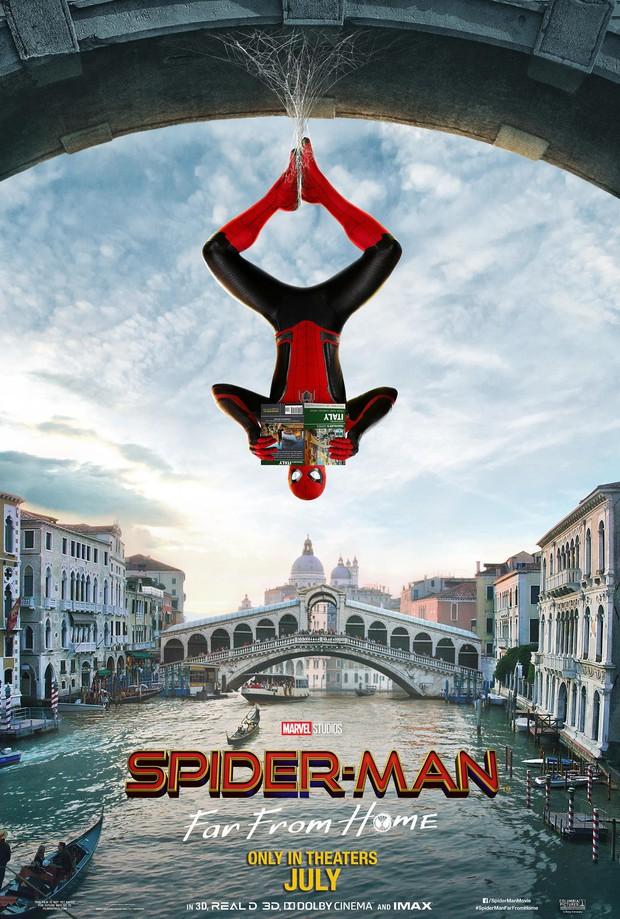 """Điểm danh loạt tọa độ nổi tiếng xuất hiện trong bom tấn """"Người Nhện xa nhà"""": Spider Man đưa khán giả đi khắp châu Âu! - Ảnh 1."""