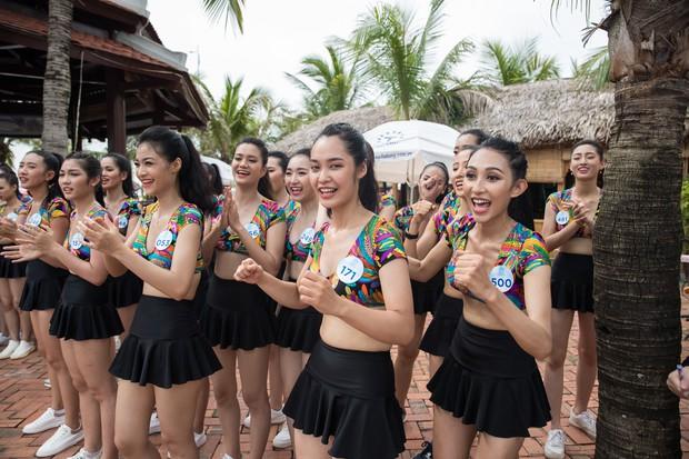 Bình An - Phương Nga diện giày đôi, cùng hội Hoa hậu tiếp lửa cho thí sinh Miss World Việt chinh chiến Người đẹp thể thao - Ảnh 8.