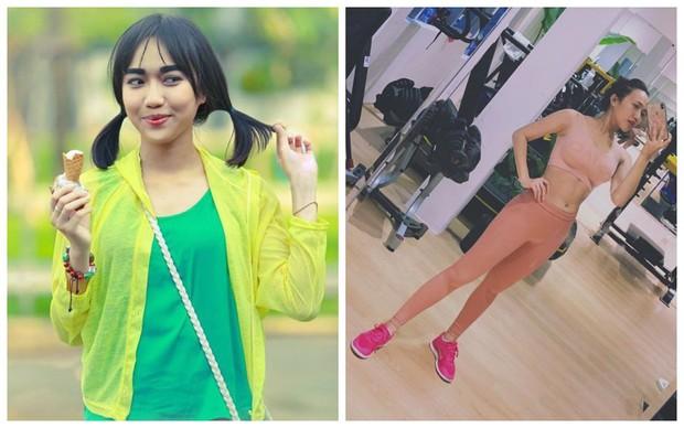 Loạt sao và hot girl Việt cho thấy: cứ chăm tập đi, bạn sẽ có màn Before - After khiến dân tình tròn mắt - Ảnh 21.