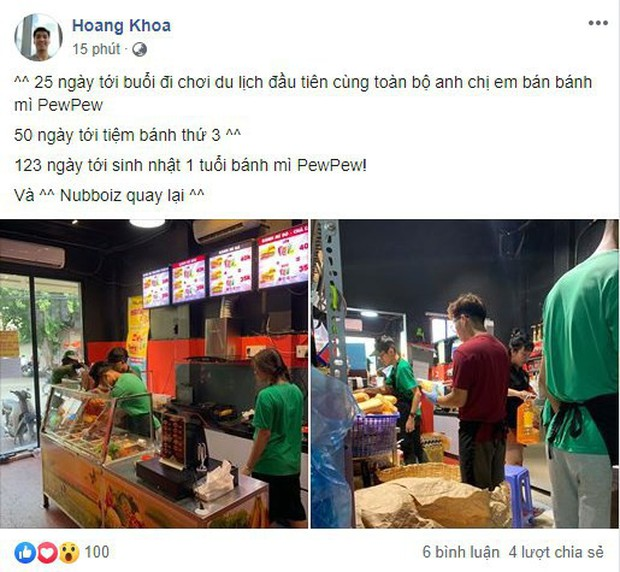 Pewpew hé lộ dự định về tiệm bánh thứ 3, chia sẻ việc sắp comeback PUBG - Ảnh 2.