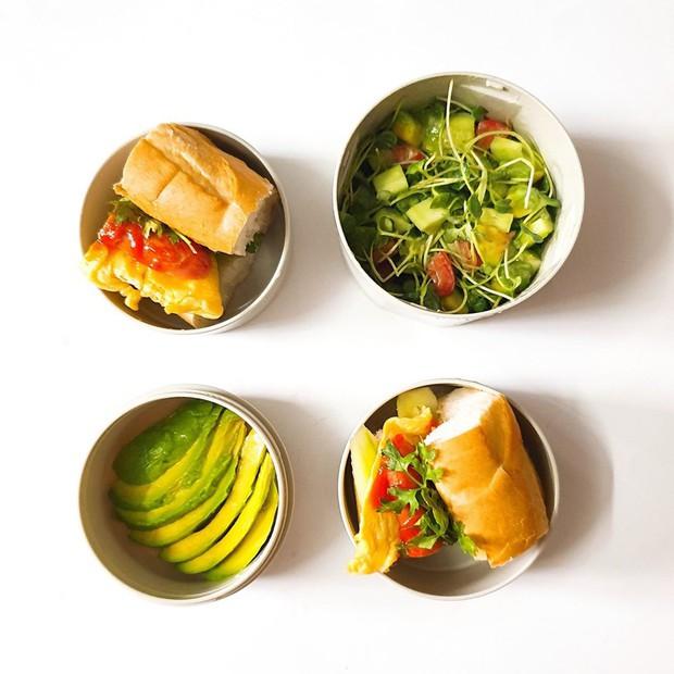 Chỉ với 50k đồng, cô gái trẻ làm ra hàng loạt bữa cơm trưa siêu tinh tế để chồng mang đi làm mỗi ngày - Ảnh 14.