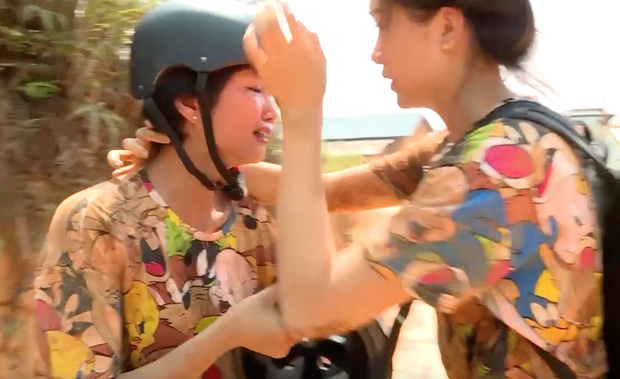 Kỳ Duyên, HHen Niê ngã xe địa hình, bật khóc trong tập 2 Cuộc đua kỳ thú - Ảnh 5.