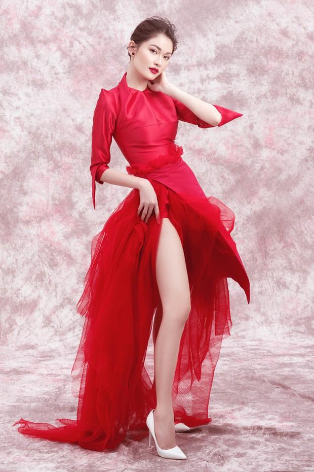 Á hậu Thùy Dung khoe ngực căng đầy gợi cảm khi bước sang tuổi 23 - Ảnh 6.