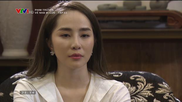 Trở lại màn ảnh hậu ly hôn, Quỳnh Nga liên tục bị netizen chê diễn đơ, thiếu cảm xúc trong Về nhà đi con - Ảnh 1.