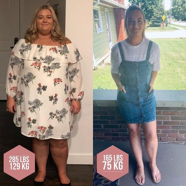 Thêm một trường hợp giảm được 51kg sau nhiều lần bỏ cuộc vì cân nặng từng đạt ngưỡng 129kg - Ảnh 4.