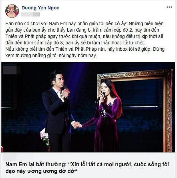 Chơi Facebook như Dương Yến Ngọc: Hết bắt mạch online phán Nam Em trầm cảm, lại trổ tài xem tướng cho Việt Anh khi thẩm mỹ - Ảnh 5.