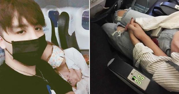 Nhờ sự cố máy bay và cái nắm tay che chở, chàng trai tự dưng vớ được cô người yêu xinh đẹp - Ảnh 1.