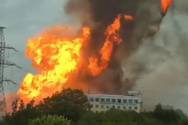 14 người thương vong trong vụ cháy nhà máy nhiệt điện Nga - Ảnh 1.