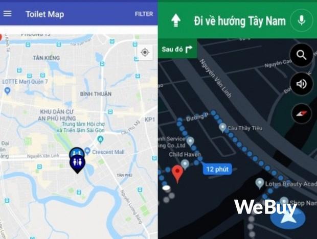 Trải nghiệm 3 ứng dụng tìm nhà vệ sinh tại Việt Nam, liệu có xịn hơn Google Maps? - Ảnh 1.