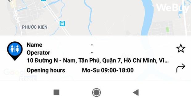 Trải nghiệm 3 ứng dụng tìm nhà vệ sinh tại Việt Nam, liệu có xịn hơn Google Maps? - Ảnh 3.
