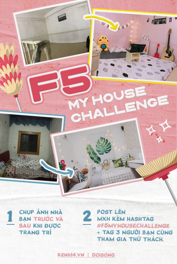 #F5MyHouseChallenge: Thử thách F5 phòng trọ, nhà thuê thành không gian xinh xắn hơn, bạn đã thử chưa? - Ảnh 16.