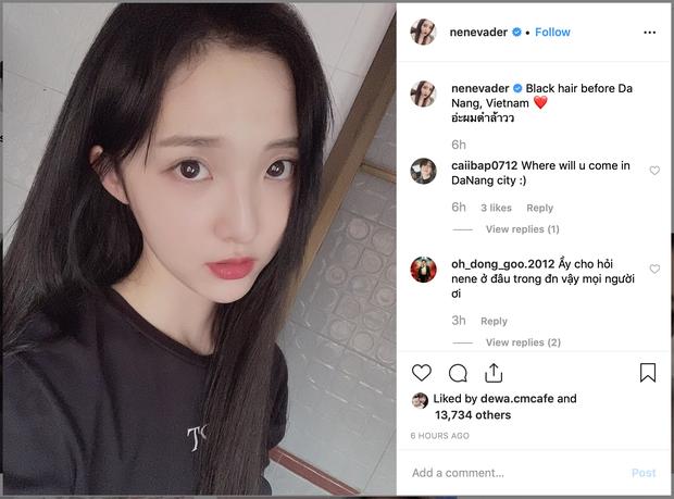 Nene - Hotgirl Thái Lan bất ngờ hoá gái ngoan trước giờ sang Việt Nam dự showmatch Đại chiến Youtuber Quốc tế - Ảnh 1.