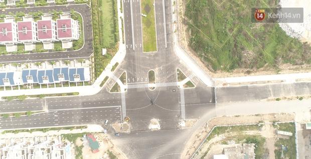Clip, ảnh: Toàn cảnh tuyến đường mới với 8 làn xe, mạch xương sống nối liền 3 quận ở Hà Nội - Ảnh 7.