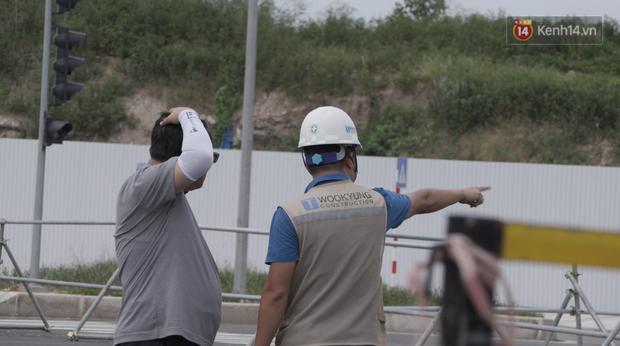 Clip, ảnh: Toàn cảnh tuyến đường mới với 8 làn xe, mạch xương sống nối liền 3 quận ở Hà Nội - Ảnh 9.