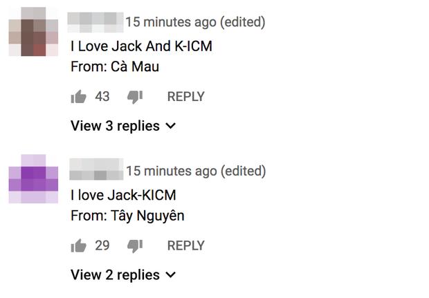 Jack và K-ICM gây bão Youtube với MV Sóng gió, fan cũng gây sóng gió với bão bình luận - Ảnh 2.