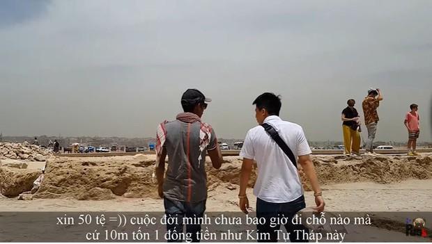 """Tự nhận là YouTuber Việt đầu tiên chi """"tiền tấn"""" review Kim Tự Tháp, Khoa Pug vạch trần nhiều sự thật không ngờ về tọa độ nổi tiếng này - Ảnh 25."""