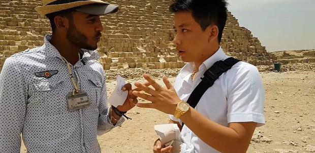 """Tự nhận là YouTuber Việt đầu tiên chi """"tiền tấn"""" review Kim Tự Tháp, Khoa Pug vạch trần nhiều sự thật không ngờ về tọa độ nổi tiếng này - Ảnh 14."""