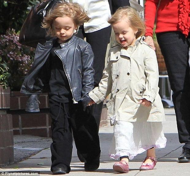 Ngược đời như cặp sinh đôi đắt giá nhất Hollywood nhà Brangelina: Em gái càng nam tính, anh trai lại hiền lành ủy mị - Ảnh 8.