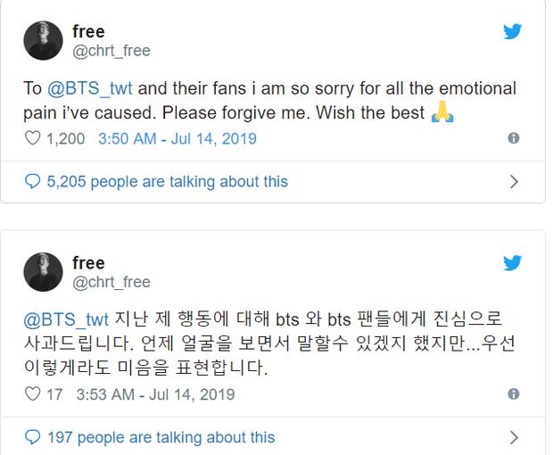 Rapper từng xúc phạm BTS thuở mới debut đột nhiên xin lỗi, ARMY mỉa mai: Muốn ké fame hay gì? - Ảnh 2.