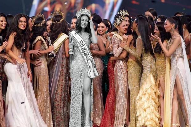 Cựu thí sinh The Face Thái đăng quang Hoa hậu nhưng bị chị đại Lukkade hủy follow vì dính phốt - Ảnh 6.