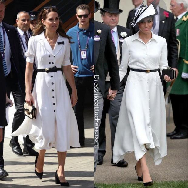 """Không ngừng bị chỉ trích về trang phục như """"tát nước vào mặt"""", Meghan Markle phải chịu bất công quá lớn so với công nương Kate - Ảnh 1."""