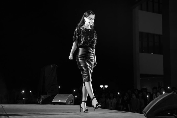 Ai đó kiêng dè váy kén dáng chứ Phạm Quỳnh Anh chẳng ngán diện, đã vậy còn mặc tuyệt đẹp - Ảnh 1.