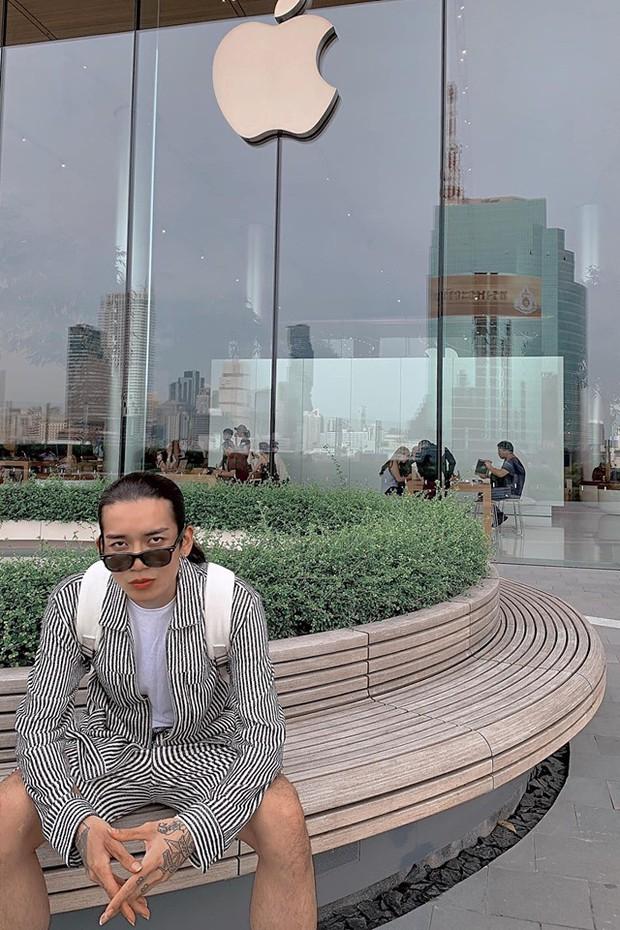"""Đến Thái Lan mà chưa có ảnh check-in ở background """"trái táo khuyết"""" huyền thoại như BB Trần thì uổng lắm à nghen! - Ảnh 17."""