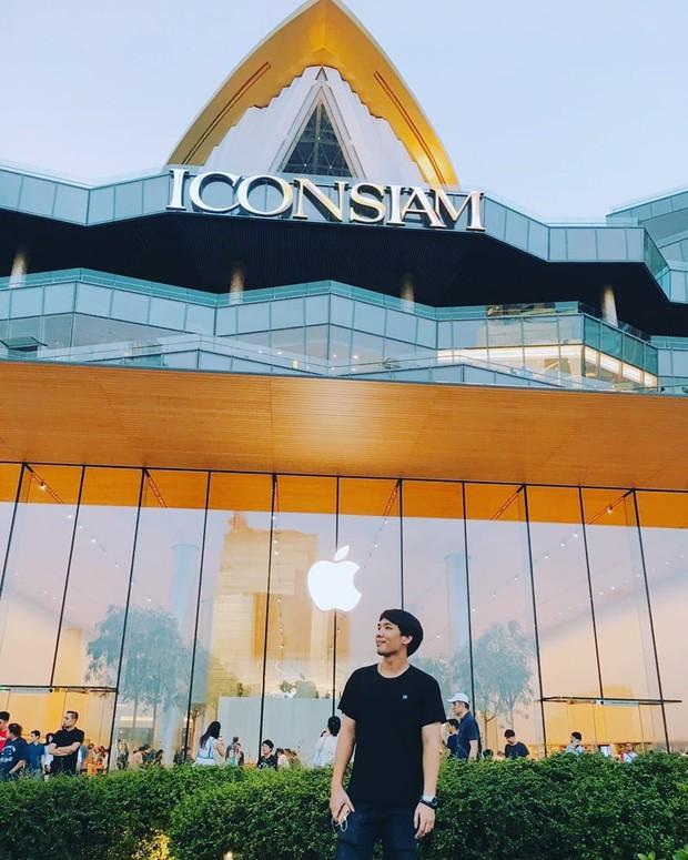 """Đến Thái Lan mà chưa có ảnh check-in ở background """"trái táo khuyết"""" huyền thoại như BB Trần thì uổng lắm à nghen! - Ảnh 11."""