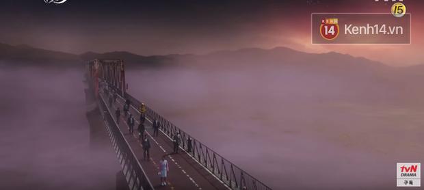 2 cây cầu nổi tiếng của Hà Nội bất ngờ hoá cameo phim kinh dị Hotel del Luna của IU? - Ảnh 7.