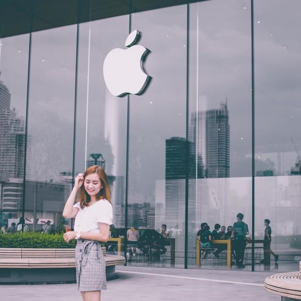 """Đến Thái Lan mà chưa có ảnh check-in ở background """"trái táo khuyết"""" huyền thoại như BB Trần thì uổng lắm à nghen! - Ảnh 20."""