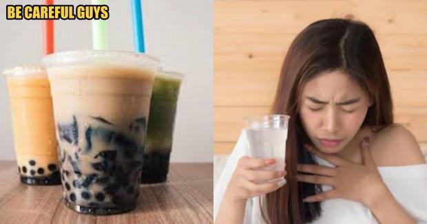 Hút trà sữa quá mạnh, cô gái chết ngạt vì 3 hạt trân châu mắc trong khí quản - Ảnh 2.