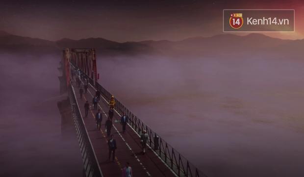 2 cây cầu nổi tiếng của Hà Nội bất ngờ hoá cameo phim kinh dị Hotel del Luna của IU? - Ảnh 1.