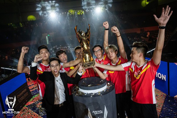 Liên Quân Mobile: Chấn động, Tencent tuyên bố VN vô địch AWC khi Chung kết chưa kết thúc - Ảnh 1.