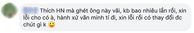 HLV Hà Nội FC xin lỗi trọng tài vì hành xử xấu xí, bị gọi là người đáng ghét nhất đội bóng thủ đô - Ảnh 2.