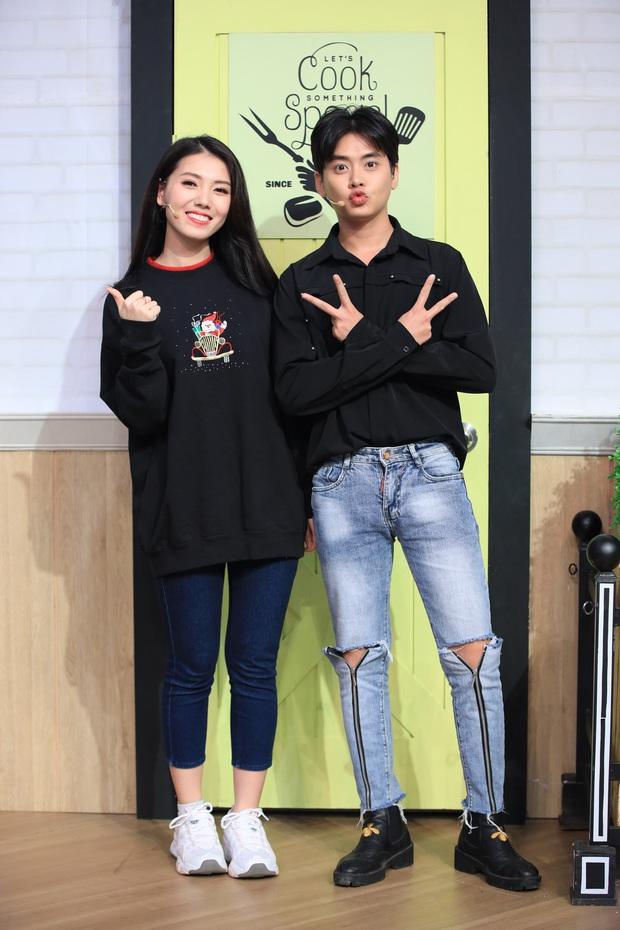 Hậu làm lành, Cao Thiên Trang - Thùy Dương đối đầu nhau trên show nấu ăn - Ảnh 4.