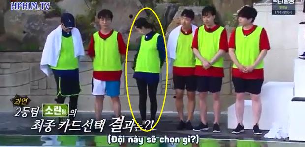 Running Man: Jeon So Min chơi dơ nhưng lại giả nai vì không muốn Ji Suk Jin chung đội - Ảnh 5.