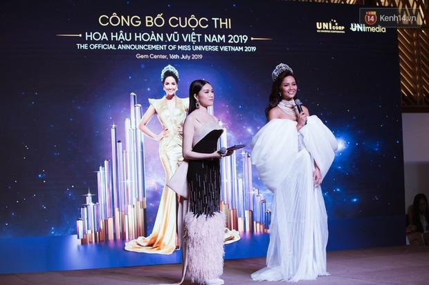 HHen Niê diện style khác lạ, Mâu Thủy hở bạo khoe ngực đầy trong sự kiện khởi động Miss Universe Việt Nam 2019 - Ảnh 16.