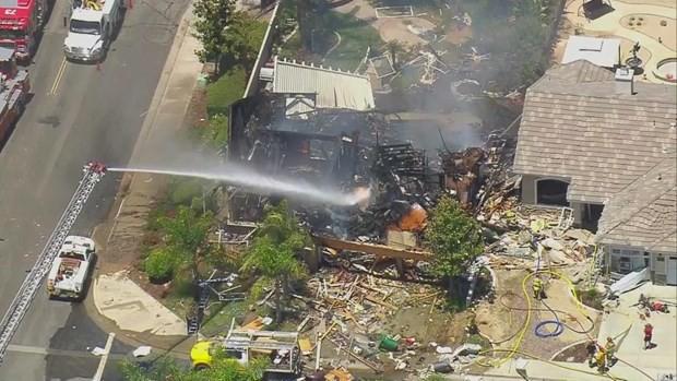 Mỹ: Nổ khí gas tại Nam California, 16 người thương vong - Ảnh 1.