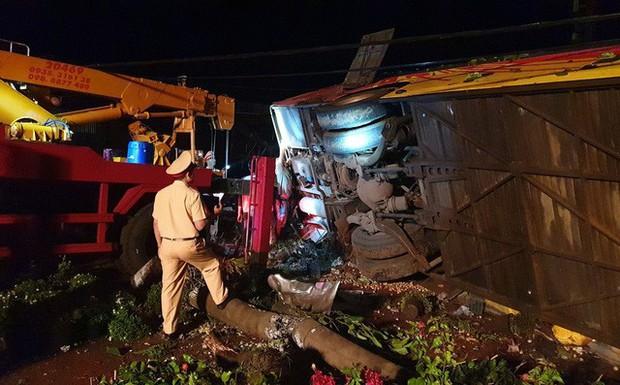 Vụ lật xe khiến 13 người thương vong: Xe khách gây tai nạn chạy sai hành trình - Ảnh 1.