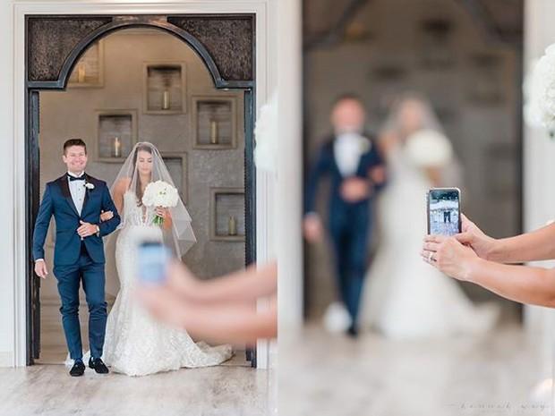 Ảnh chụp đám cưới bỗng thành thảm họa xóa phông vì sự hiện diện của chiếc iPhone tai hại - Ảnh 2.