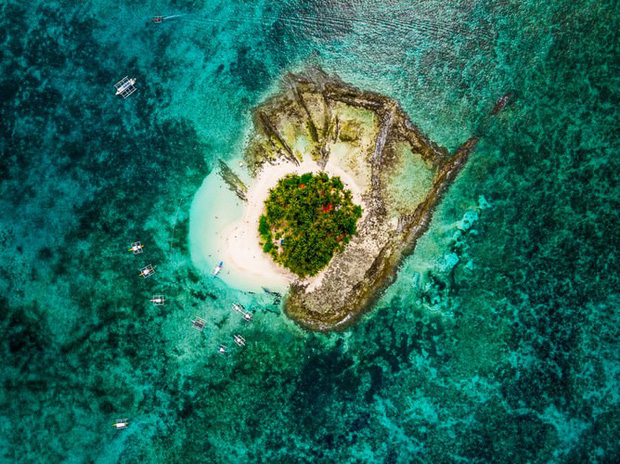 Vượt qua cả Bali và Hawaii, ốc đảo hình giọt nước kỳ lạ ở Philippines được tạp chí Mỹ bình chọn đẹp nhất thế giới - Ảnh 4.