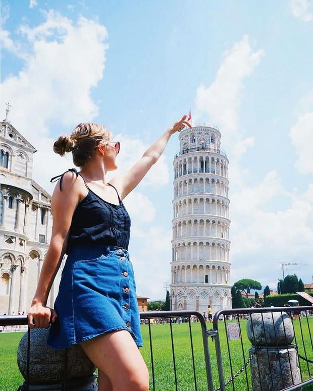 """""""Ngả nghiêng cùng năm tháng"""" siêu nổi tiếng ở nước Ý, hóa ra vào mùa hè trông tháp Pisa lại """"thẳng thớm"""" hơn? - Ảnh 10."""
