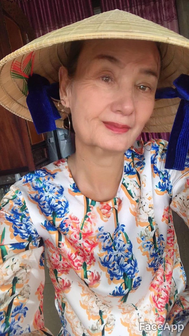 H'Hen Niê, Bích Phương và nhiều sao Việt hào hứng tham gia trào lưu già hóa: Chẳng thể ngờ ai cũng đẹp lão đến lạ! - Ảnh 6.