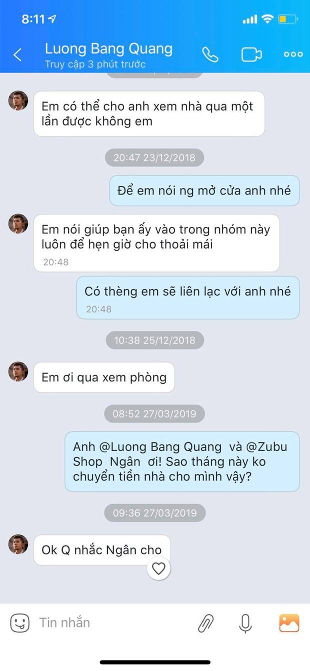 Bị tố quỵt tiền thuê nhà và ở bẩn, Ngân 98 lên mạng nói có người hại mình còn Lương Bằng Quang chỉ chờ để lấy lại đồ nội thất đã sắm cho tình cũ - Ảnh 4.