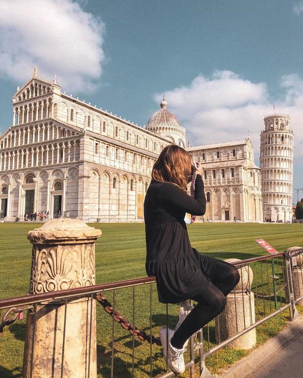 """""""Ngả nghiêng cùng năm tháng"""" siêu nổi tiếng ở nước Ý, hóa ra vào mùa hè trông tháp Pisa lại """"thẳng thớm"""" hơn? - Ảnh 19."""