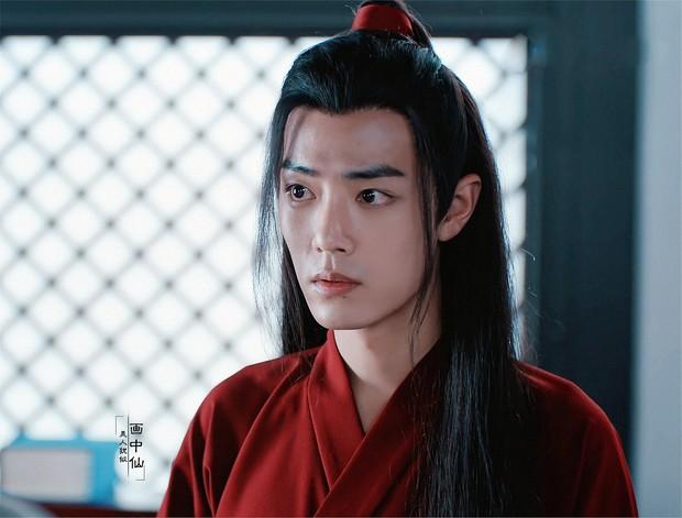 Tưởng Bành Tiểu Nhiễm diện áo đỏ đẹp số 1, ai dè hồng y nam tử Tiêu Chiến còn khiến bao người chảy dãi hơn - Ảnh 8.