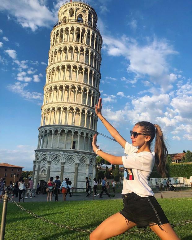 """""""Ngả nghiêng cùng năm tháng"""" siêu nổi tiếng ở nước Ý, hóa ra vào mùa hè trông tháp Pisa lại """"thẳng thớm"""" hơn? - Ảnh 6."""
