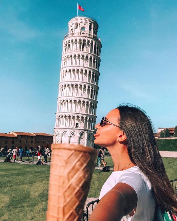 """""""Ngả nghiêng cùng năm tháng"""" siêu nổi tiếng ở nước Ý, hóa ra vào mùa hè trông tháp Pisa lại """"thẳng thớm"""" hơn? - Ảnh 17."""