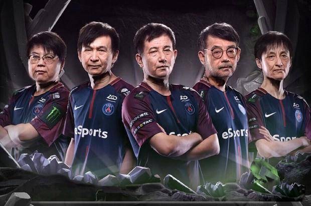 Không thể nhịn cười với trào lưu chế ảnh sau 50 năm của cộng đồng Dota 2 cho những đội tuyển tham dự TI9 - Ảnh 10.