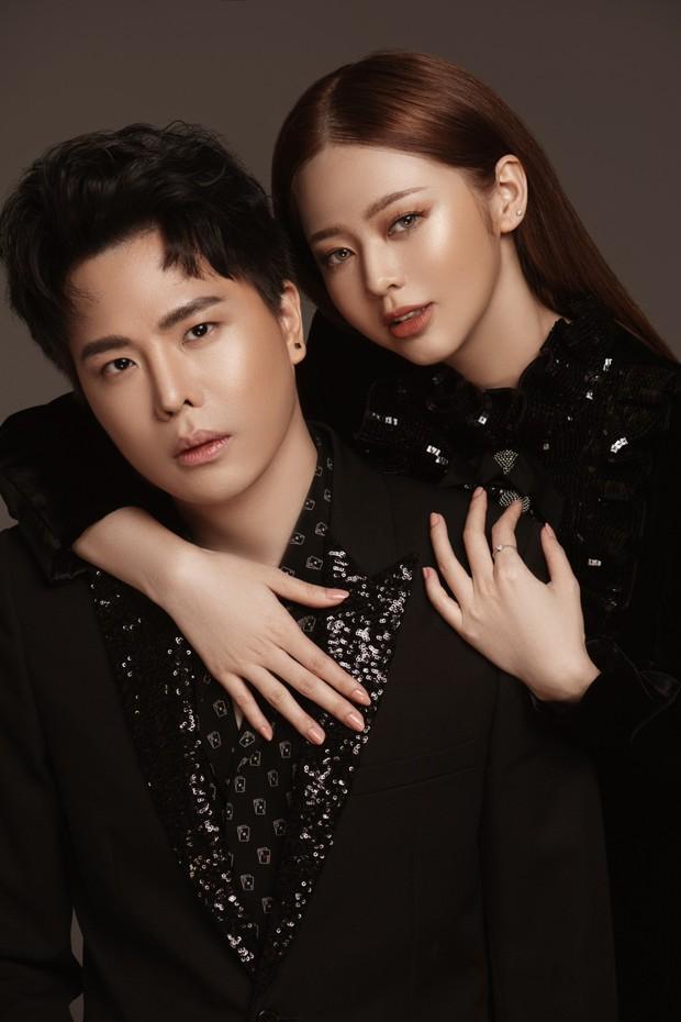 Sau nghi vấn hẹn hò, Trịnh Thăng Bình và Liz Kim Cương tung bộ ảnh tình tứ mở màn dự án hát đôi - Ảnh 3.